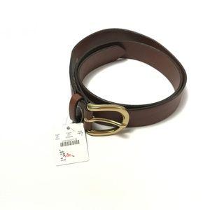 J.Crew Men's Belt Genuine Italian Leather Size S
